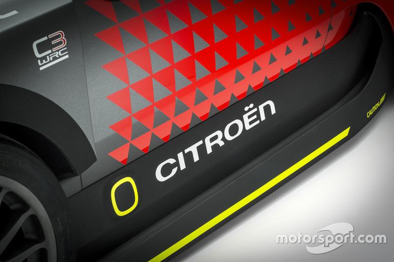 Концепт-кар Citroën C3 WRC, детали