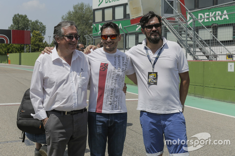 Giancarlo MInardi ve Giancarlo Fisichella