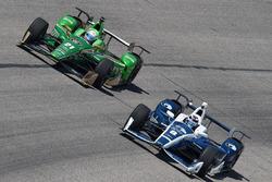 Josef Newgarden, Ed Carpenter Racing Chevrolet, Max Chilton, Chip Ganassi Racing Chevrolet
