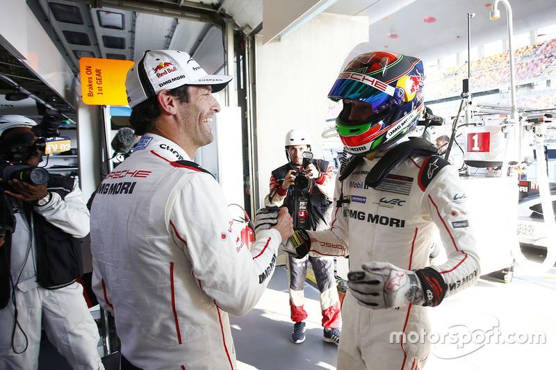 Mark Webber y Brendon Hartley