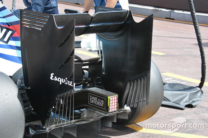 Williams FW38: Monkey-Seat