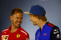 Себастьян Феттель, Ferrari, Брендон Хартлі, Toro Rosso
