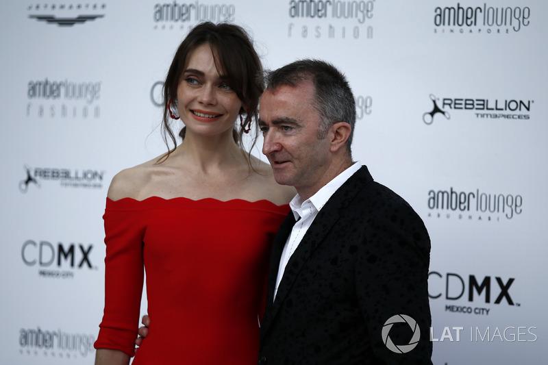 Падді Лоу, Williams, з дружиною