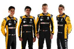 Carlos Sainz Jr., Nico Hulkenberg, Renault Sport F1 Team, Jack Aitken, Renault Sport F1 Team RS18, p