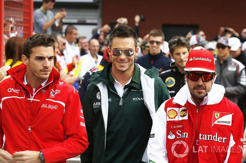 Jules Bianchi, Marussia F1 Team, Andre Lotterer, Caterham F1, Fernando Alonso, Ferrari