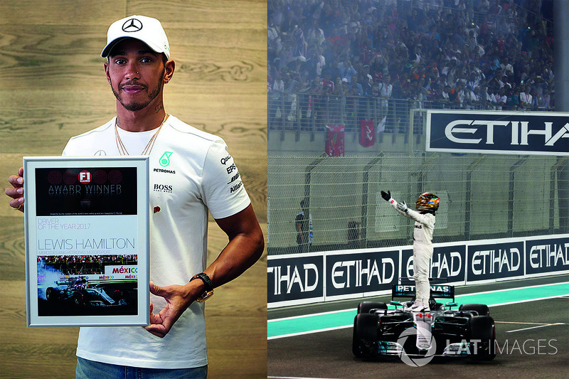 Lewis Hamilton, Mercedes AMG F1, Driver of the Year 2017