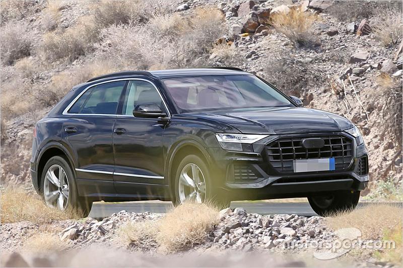 Audi Q8 2018 Erlkönig