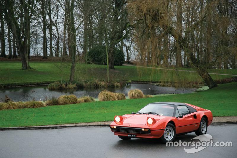 La Ferrari 308 GTS 1978 di Gilles Villeneuve in vendita