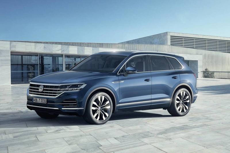 Autó Megérkezett az új Volkswagen Touareg