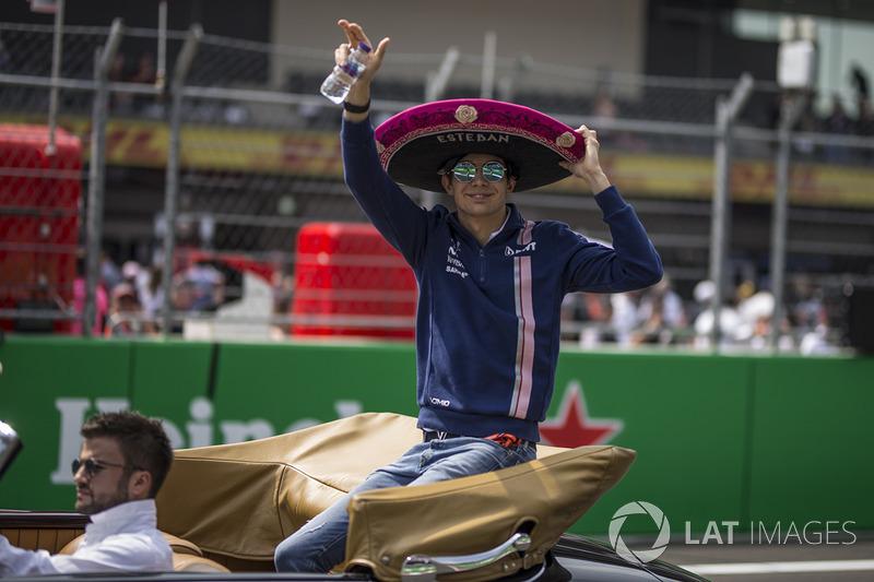 9: Esteban Ocon