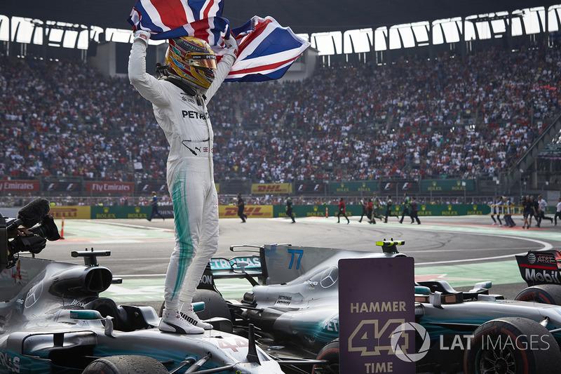 Juara Dunia 2017, Lewis Hamilton, Mercedes AMG F1