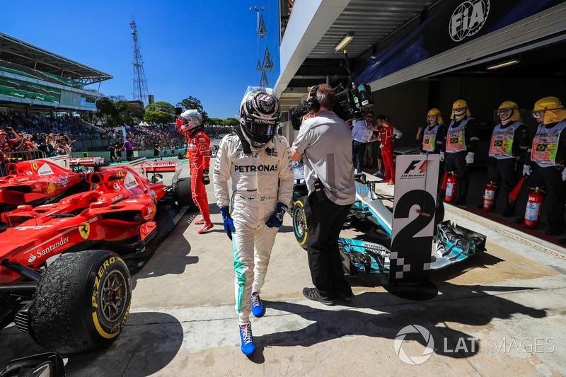 Valtteri Bottas, Mercedes AMG F1 in parc ferme
