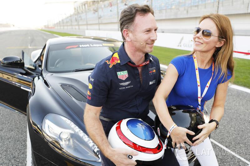 Джері і Крістіан Хорнер, Aston Martin Vanquish S