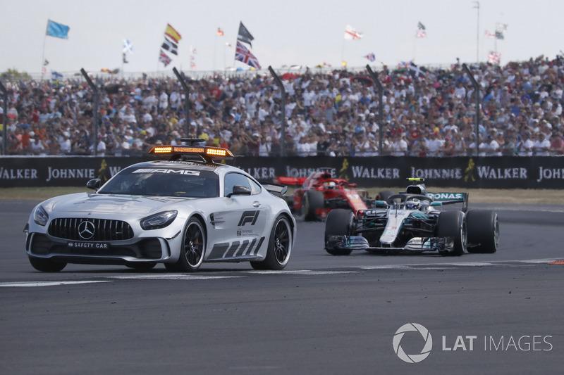 Safety Car delete de Valtteri Bottas, Mercedes-AMG F1 W09