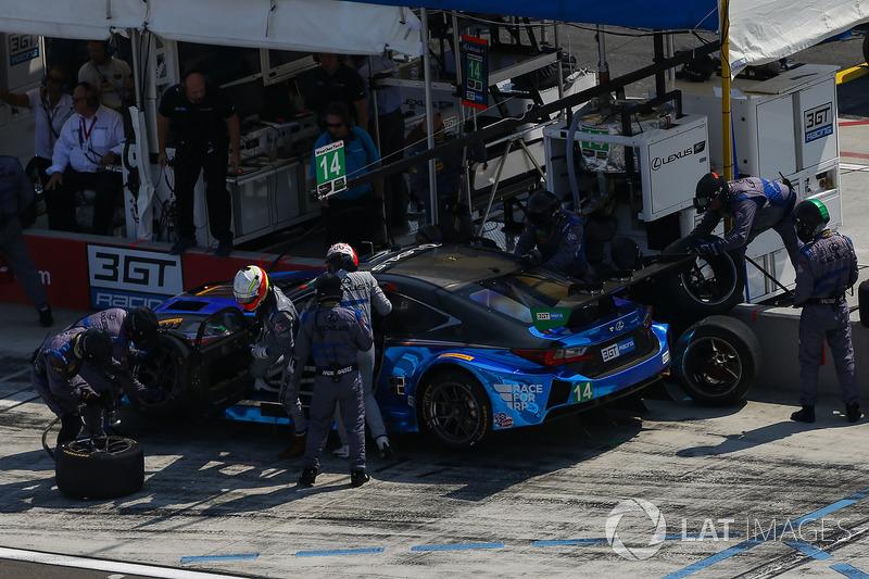 #14 3GT Racing Lexus RCF GT3, GTD: Dominik Baumann, Kyle Marcelli, Pit Stop