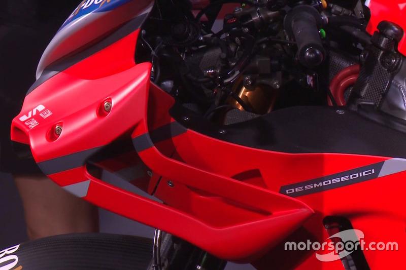 Ducati Desmosedici GP18 detay