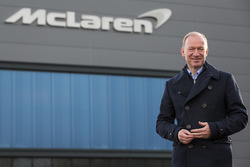 Mike Flewitt, McLaren Automotive Chief Executive