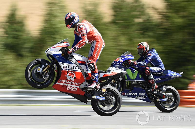 Даніло Петруччі, Pramac Racing, Маверік Віньялес, Yamaha Factory Racing