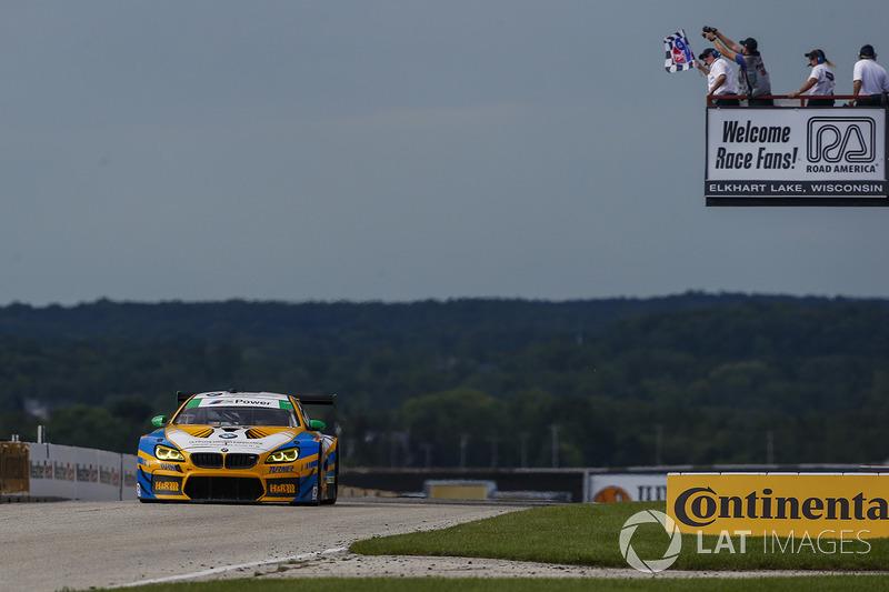 #96 Turner Motorsport BMW M6 GT3: Джессі Крон, Йенс Клінгманн перемагають у класі