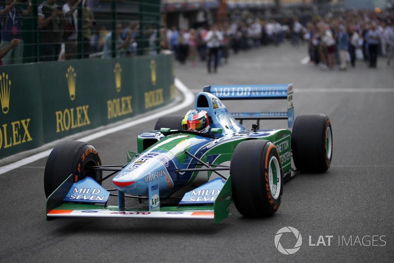 Mick Schumacher in the Benetton B194-5
