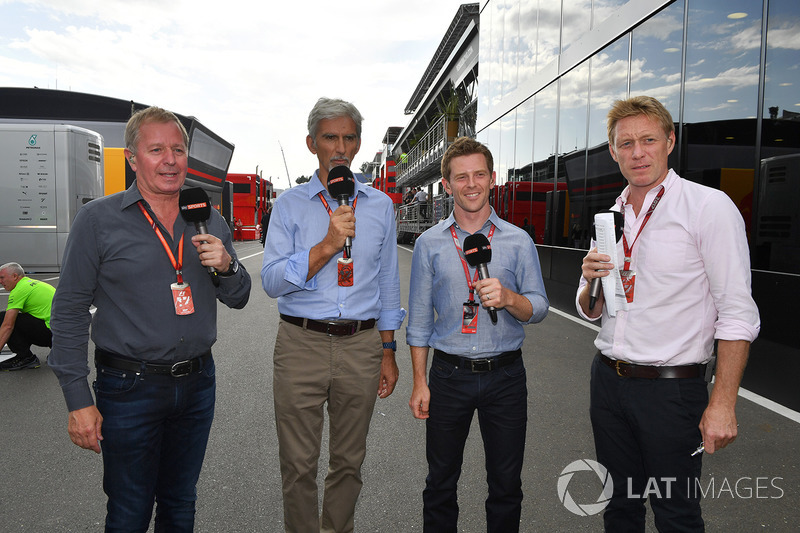 Sky Sports F1: Martin Brundle, Damon Hill, Anthony Davidson, Simon Lazenby