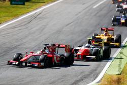Charles Leclerc, PREMA Powerteam, Jordan King, MP Motorsport