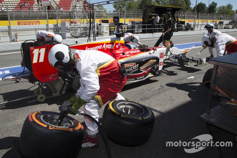 Ralph Boschung, Campos Racing pitstop