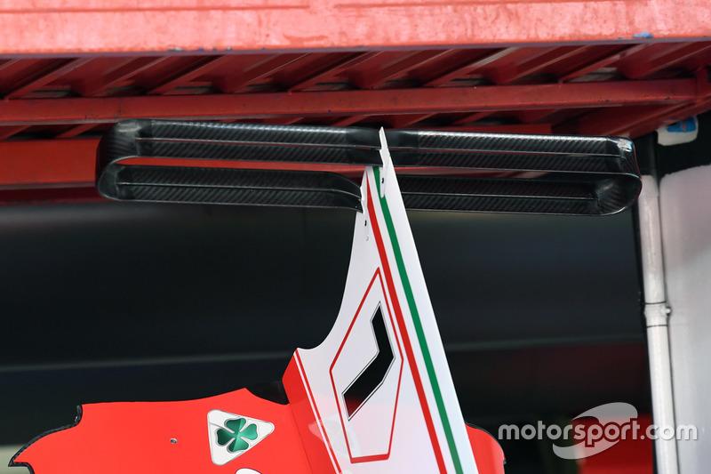 Ferrari SF70H T-Wing detail
