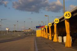 Boxengasse in Daytona