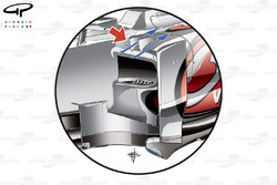 McLaren MP4-27 sidepod vortex generators