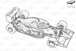 Ferrari F92AT (644) 1992 detailed overview