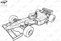 Williams FW17 1995 overview