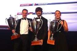 2016 Sprint Cup Pro-AM Cup Teams, Kessel Racing, champion, AKKA ASP, 2nd place, Rinaldi Racing, 3rd place
