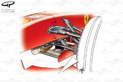 Ferrari F2007 (658) 2007 front suspension detail