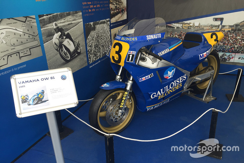 1985 Yamaha YZR500 OW81