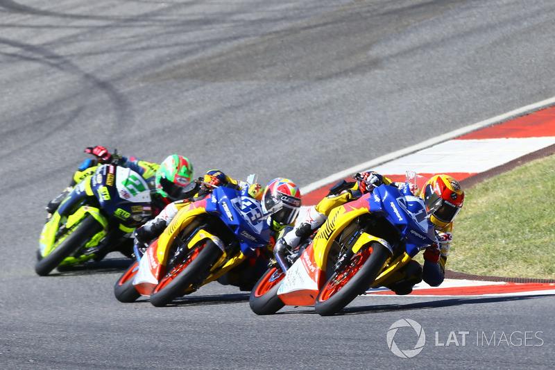 Marc Garcia, Yamaha, Daniel Valle, Yamaha, Ana Carrasco, Kawasaki