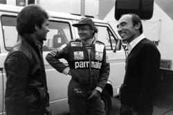 Peter Windsor, Niki Lauda, McLaren and Frank Williams, Williams