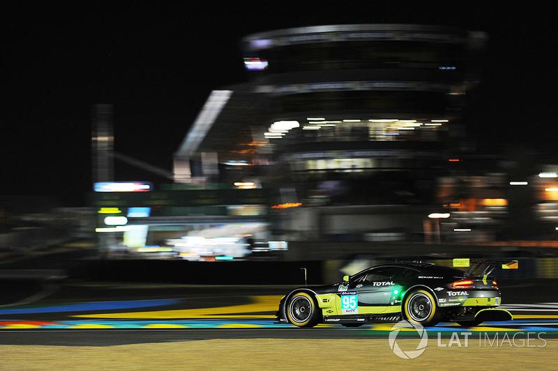19. #95 Aston Martin Racing Aston Martin Vantage: Nicki Thiim, Marco Sorensen, Richie Stanaway