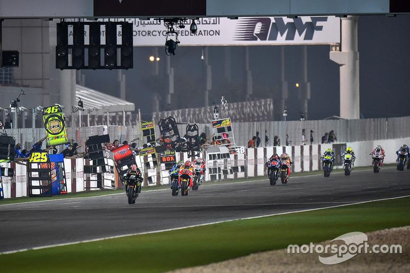 GP du Qatar MotoGP : Johann Zarco en tête