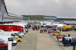 Silverstone Classic paddock