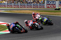 Maverick Viñales, Yamaha Factory Racing, Andrea Dovizioso, Ducati Team, Valentino Rossi, Yamaha Factory Racing, Danilo Petrucci, Pramac Racing