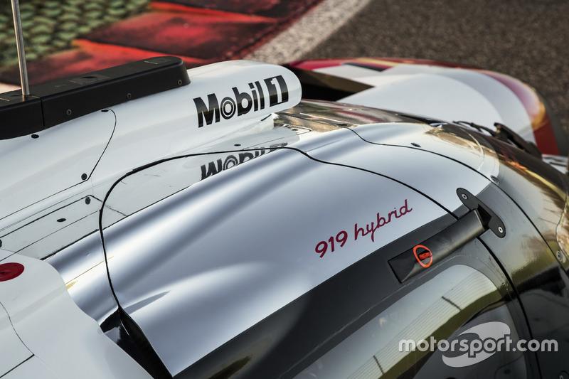 Detail: Porsche 919 Hybrid 2017