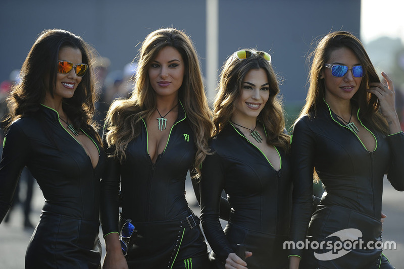 hot monster energy girls at valencia gp. Black Bedroom Furniture Sets. Home Design Ideas
