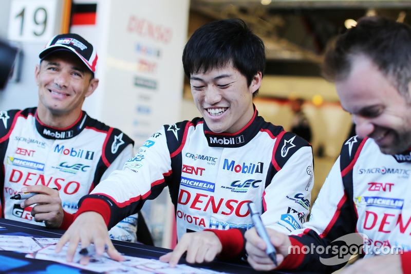Stéphane Sarrazin, Yuji Kunimoto, Toyota Gazoo Racing