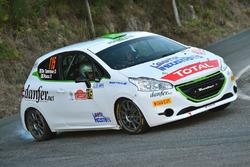 Damiano De Tommaso, Paolo Rocca, Peugeot 208 R2, Power Car Team
