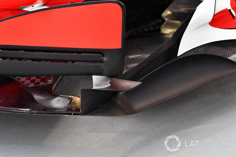 Ferrari SF70H, Windabweiser, Detail