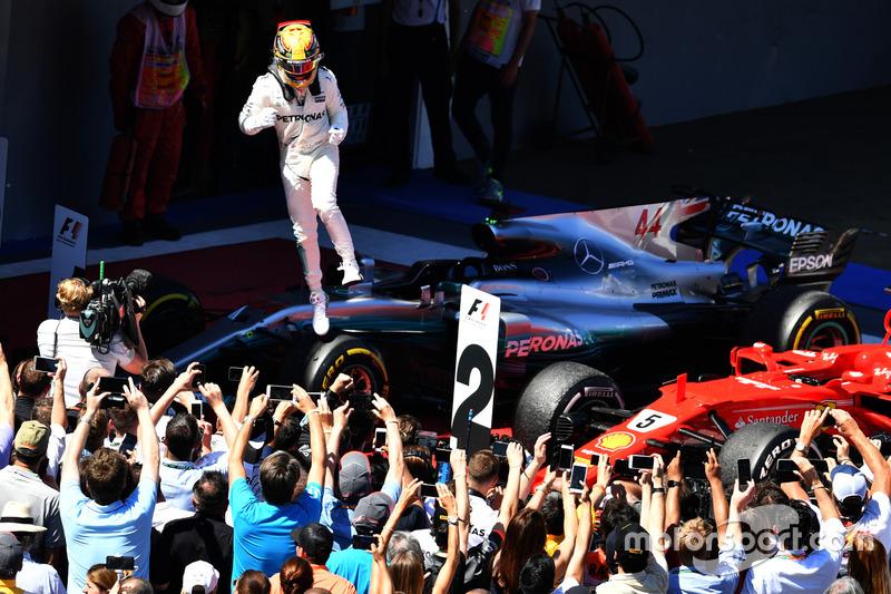 4. Ganador de la carrera Lewis Hamilton, Mercedes-Benz F1