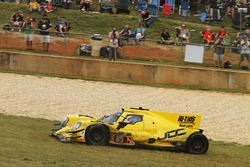 Trouble for the #85 JDC/Miller Motorsports ORECA 07: Stephen Simpson, Mikhail Goikhberg, Chris Miller