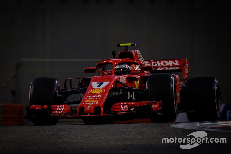La última carrera de Raikkonen con Ferrari acaba en abandono