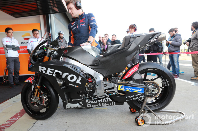 Marc Marquez, Repsol Honda Team bike